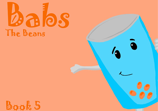 Babs the Beans story book cover