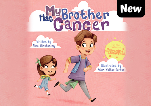 My brother has cancer book cover