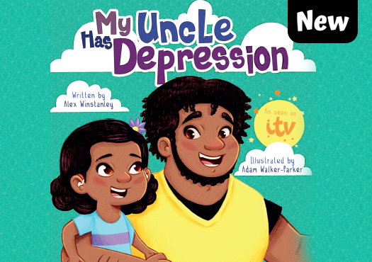 my uncle has depression book cover